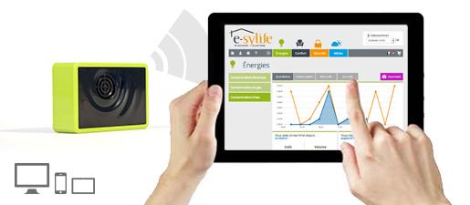 Solution e-sylife pour votre maison connectée – Module eau