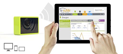 Solution e-sylife pour votre maison connectée – Module électricité