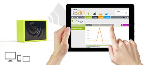 Solution e-sylife pour votre maison connectée – Module gaz