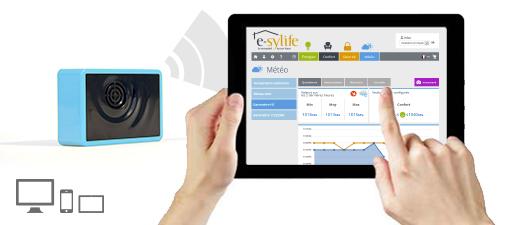 Solution e-sylife pour votre maison connectée – Module météo