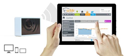 Solution e-sylife pour votre maison connectée – Module température